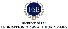 Member of The Federation Of Small Business